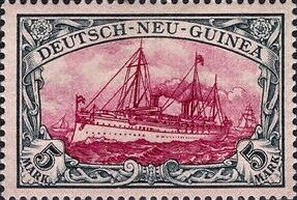Deutsch-Neu-Guinea Nr. 19, 5 Mark