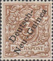 Deutsch-Neu-Guinea Nr. 1, 3 Pfennig