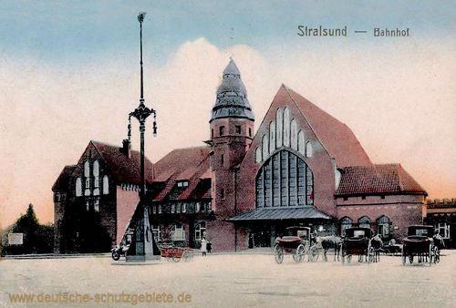 Stralsund, Bahnhof