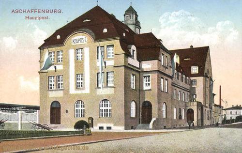 Aschaffenburg, Hauptpost