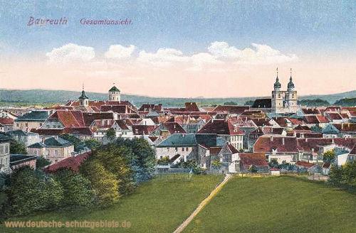 Bayreuth, Gesamtansicht