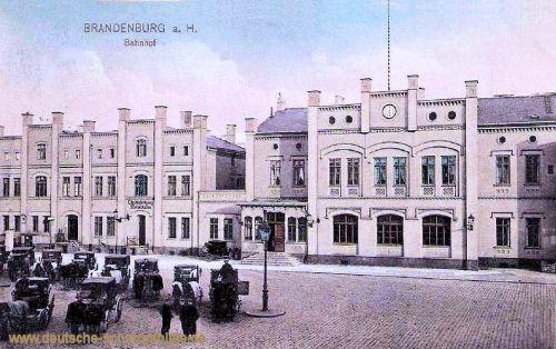 Brandenburg a. H., Bahnhof