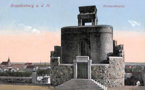 Brandenburg a. H., Bismarckwarte