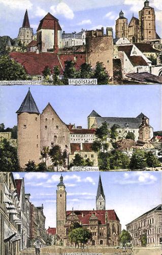 Ingolstadt, Altes Schloss