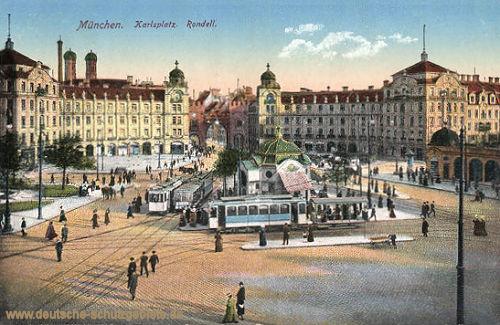 München, Karlsplatz, Rondell