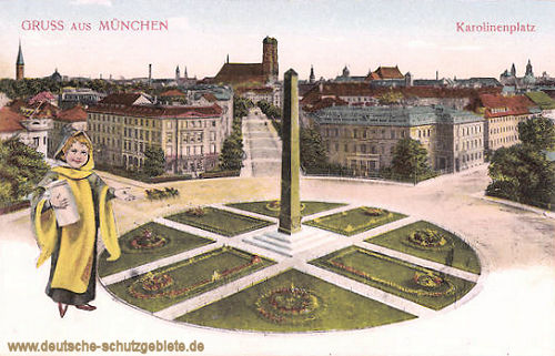 München, Karolinenplatz