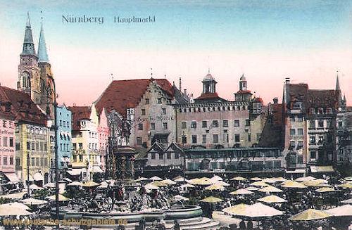 Nürnberg, Hauptmarkt