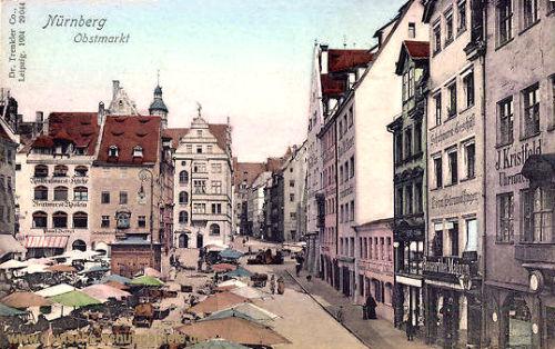 Nürnberg, Obstmarkt