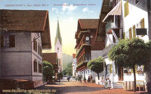 Oberstdorf, Kirchstraße Dependance Löwen