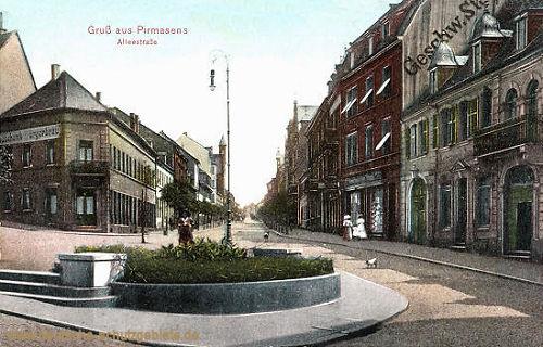 Pirmasens, Alleestraße