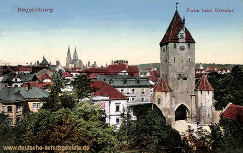 Regensburg, Partie beim Ostentor