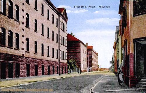 Speyer, Kasernen