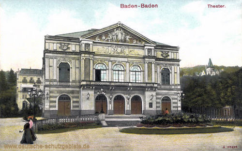 Baden-Baden, Theater