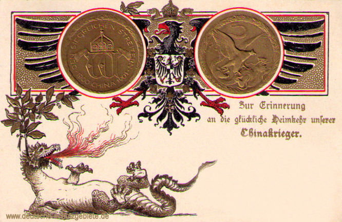 China-Denkmünze 1900-01