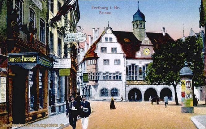 Freiburg im Breisgau, Rathaus