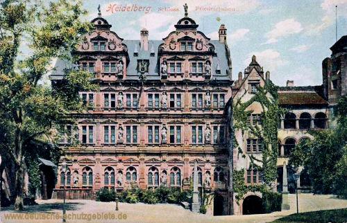 Heidelberg, Schloss, Friedrichsbau