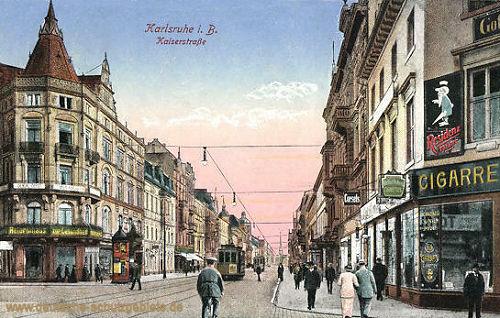 Karlsruhe, Kaiserstraße
