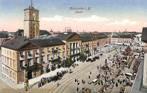 Karlsruhe, Markt