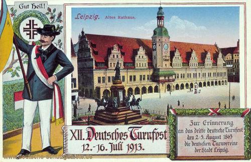 Leipzig, Altes Rathaus 1913