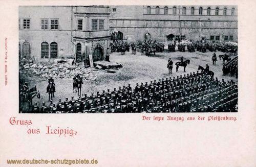 Leipzig, Der letzte Auszug aus der Pleißenburg