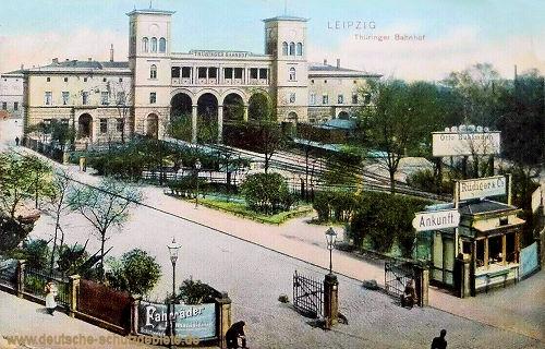 Leipzig, Thüringer Bahnhof