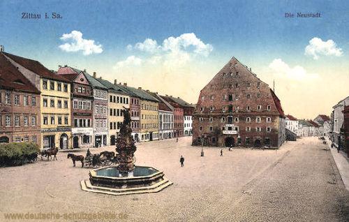 Zittau, Die Neustadt