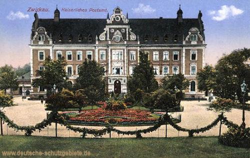 Zwickau i. S., Kaiserliches Postamt