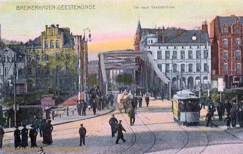 Bremerhaven-Geestemünde, Die neue Geestebrücke