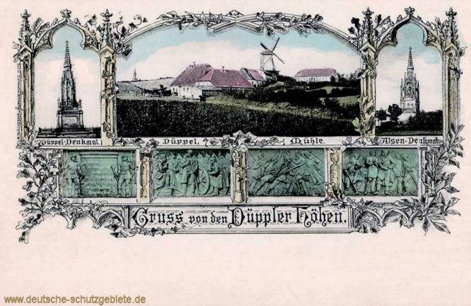 Düppel-Denkmal und Alsen-Denkmal