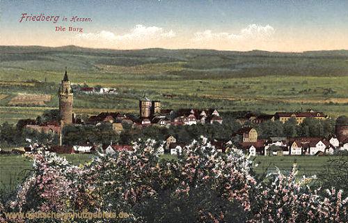 Friedberg in Hessen, Die Burg