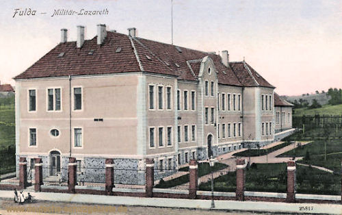 Fulda, Militär-Lazarett