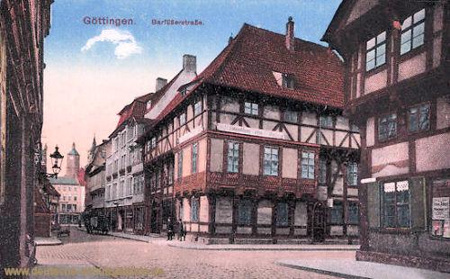 Göttingen, Barfüßerstraße