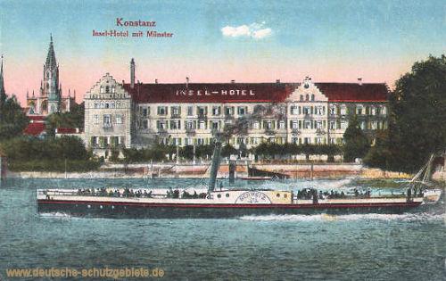 Konstanz, Insel-Hotel mit Münster