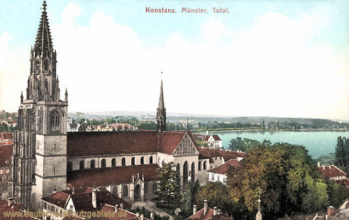 Konstanz, Münster, Total