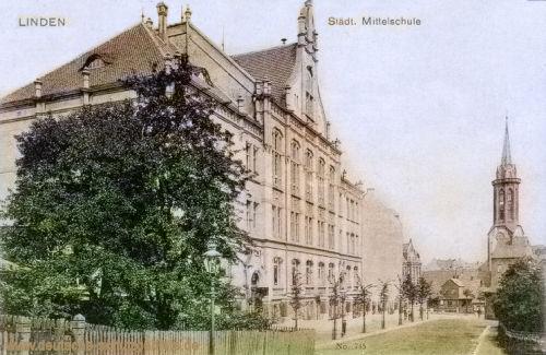 Linden, Städtische Mittelschule