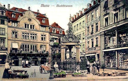 Mainz, Marktbrunnen