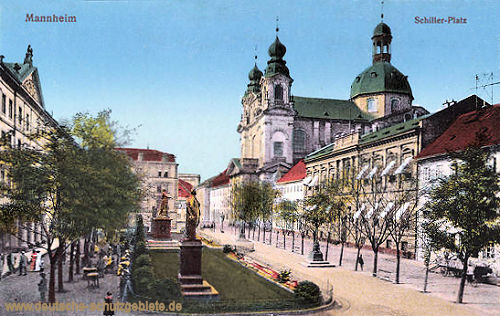 Mannheim, Schiller-Platz