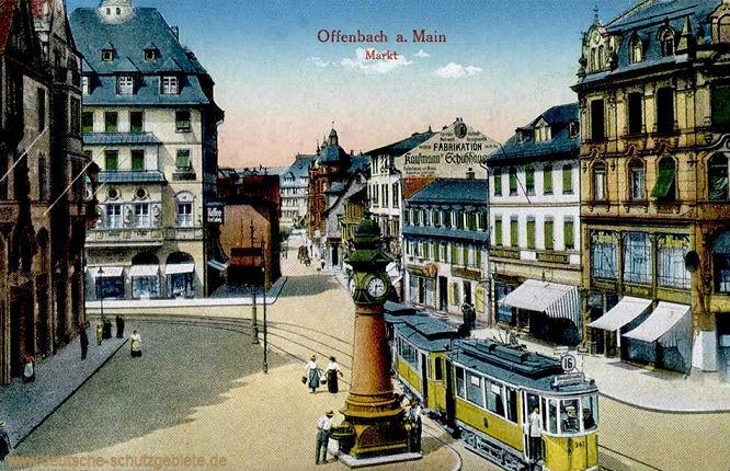 Offenbach am Main, Markt