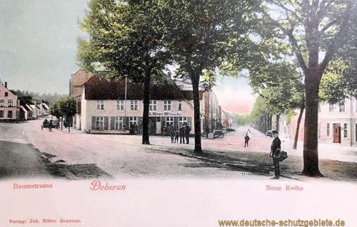 Doberan, Baumstraße, Neue Reihe