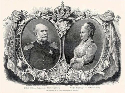 Friedrich Wilhelm Großherzog von Mecklenburg-Strelitz und Auguste, Großherzogin von Mecklenburg-Strelitz