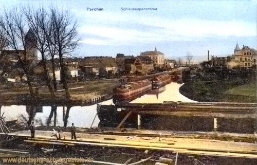 Parchim, Schleusenpanorama