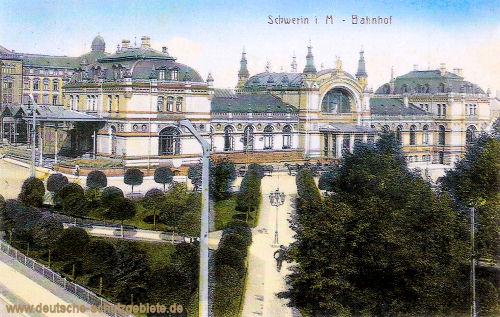 Schwerin, Bahnhof