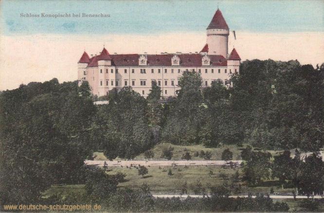 Schloss Konopischt bei Beneschau