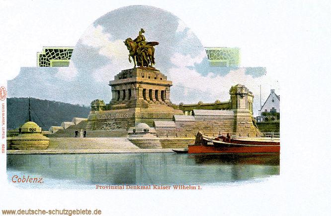Coblenz, Provinzial Denkmal Kaiser Wilhelm I.