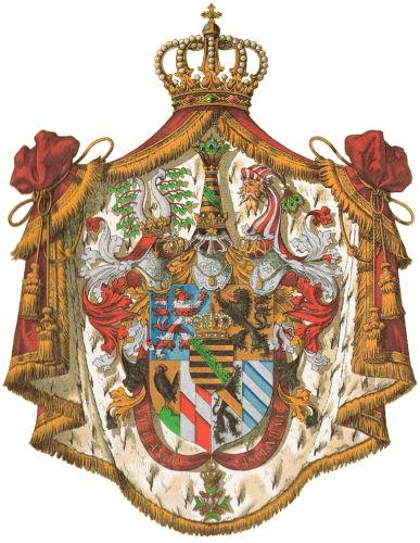 Großherzogtum Sachsen-Weimar-Eisenach, Großes Staatswappen