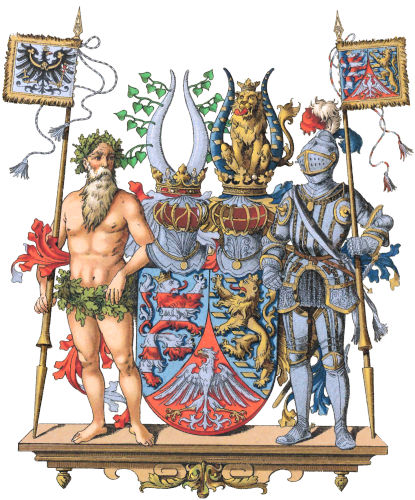 Provinz Hessen-Nassau, Großes Wappen
