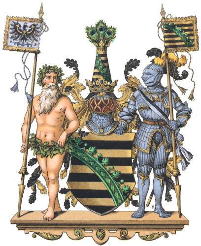 Provinz Sachsen, Großes Wappen