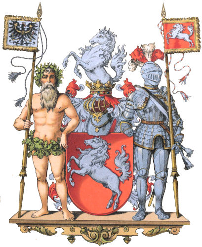 Provinz Westfalen, Großes Wappen