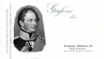 Friedrich Wilhelm IV. König von Preußen