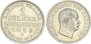 1 Silbergroschen, Königreich Preußen 1869